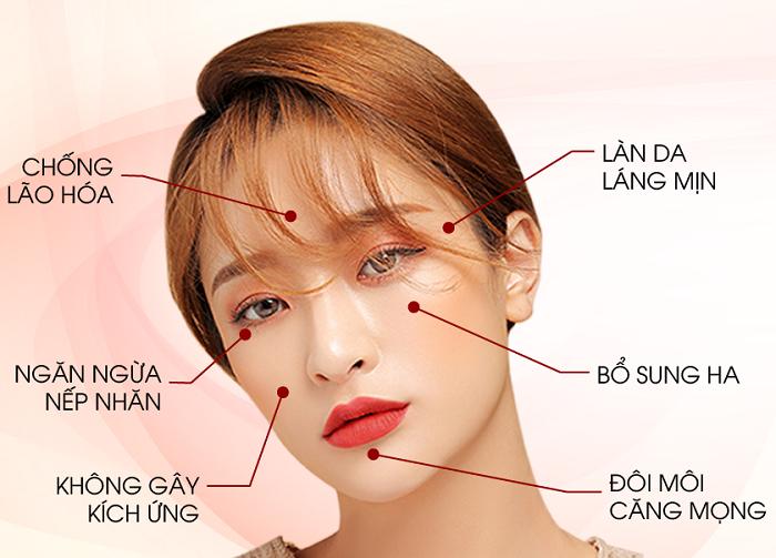 chăm sóc da mặt bằng HA có an toàn không