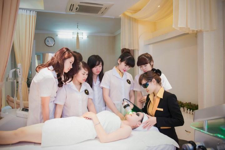 học nghề spa chăm sóc da tại hà nội
