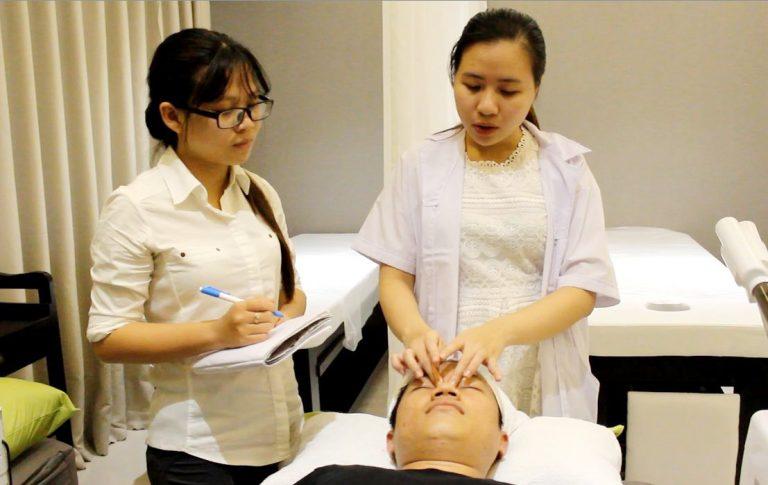 đào tạo nghề spa chăm sóc da tại hà nội